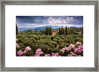 City Of Florence Framed Print