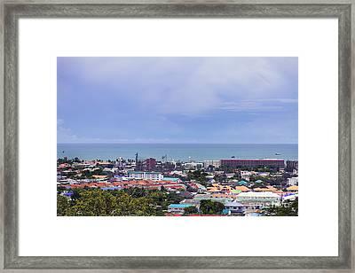 City Of Hua Hin  Framed Print