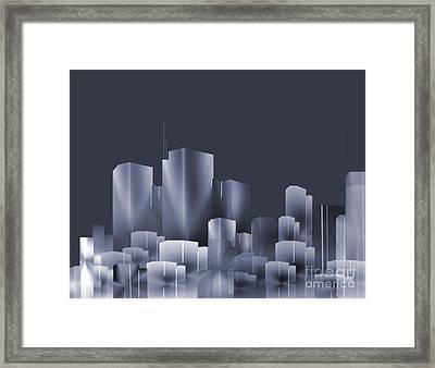 City Of Light 7 Framed Print