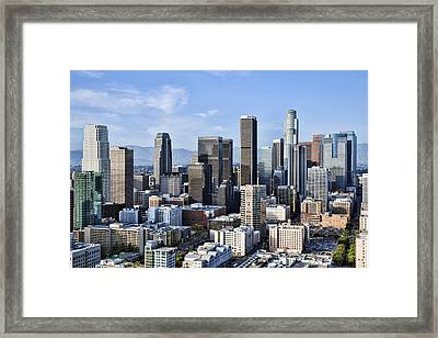 City Of Los Angeles Framed Print