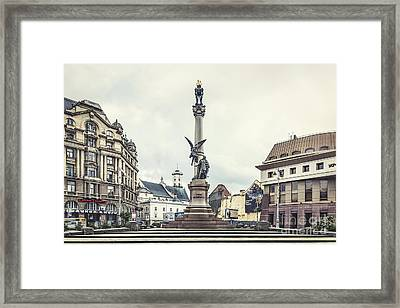 City Of Memories Framed Print