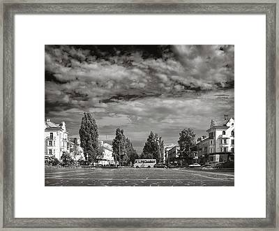 City Of Parks. Chernihiv, 2015. Framed Print