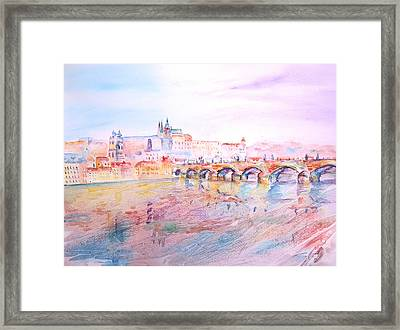 City Of Prague Framed Print
