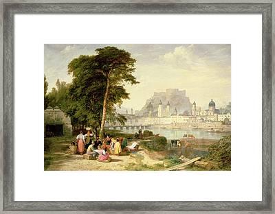 City Of Salzburg Framed Print