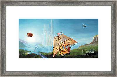 City On The Sea Framed Print