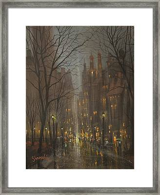 City Park Framed Print