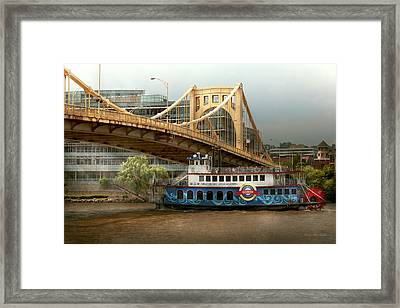 City - Pittsburg Pa - Great Memories Framed Print by Mike Savad