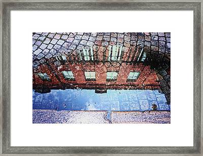 City Reflections  Framed Print