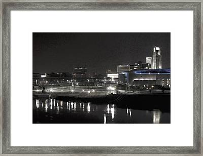 City Reflections Framed Print by Tim Perry