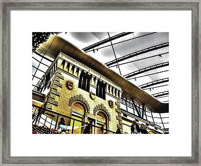 City Roof Framed Print