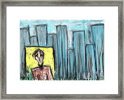 City Roots Framed Print by Levi Glassrock