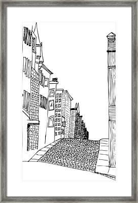 City Scape Framed Print by Karl Addison