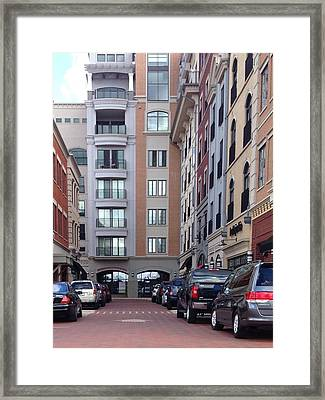 City Scene Framed Print