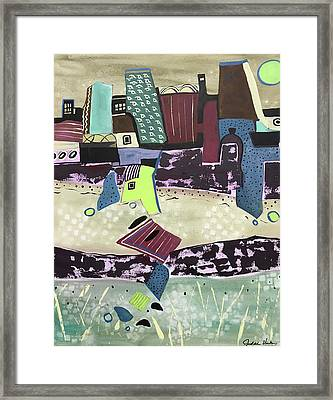 City Seranade Framed Print