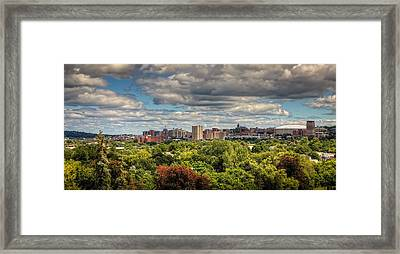 City Skyline Framed Print by Everet Regal