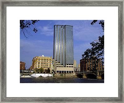 City Skyscraper Framed Print by Richard Gregurich