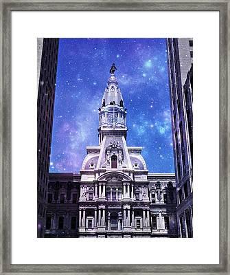 City Space  Framed Print by Brynn Ditsche