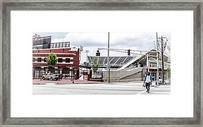 City Stadium Framed Print