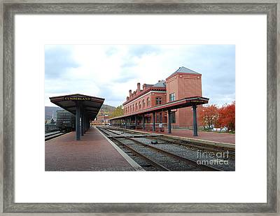 City Station Framed Print by Eric Liller