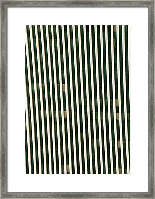City Stripes Framed Print