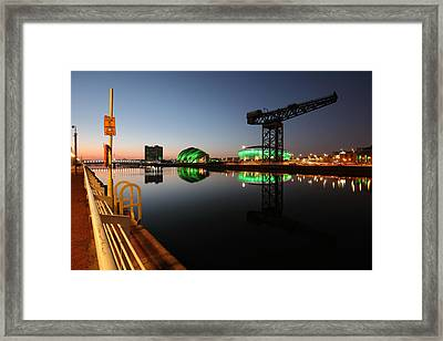 City Twilight Framed Print