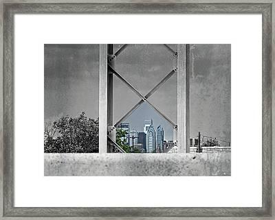 City View Framed Print