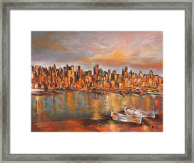 City View Framed Print
