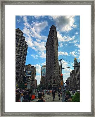 City Walk  Framed Print