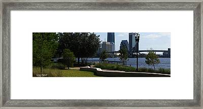 City Way Framed Print by Greg Patzer