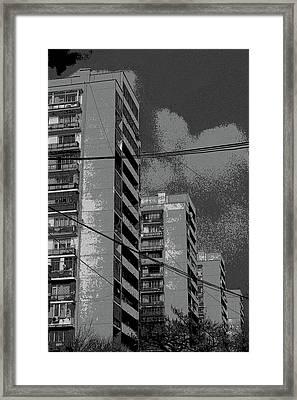 City Framed Print by Yavor Kanchev