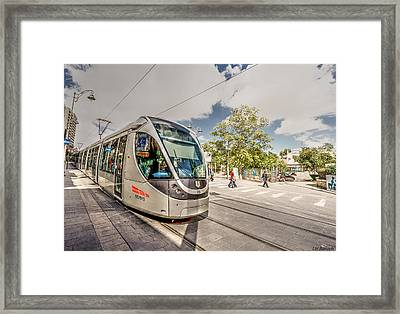 Citypass Framed Print