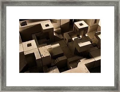 Cityscape 10 Framed Print by David Umemoto