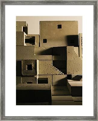 Cityscape 11 Framed Print by David Umemoto
