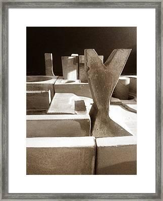 Cityscape 16 Framed Print by David Umemoto