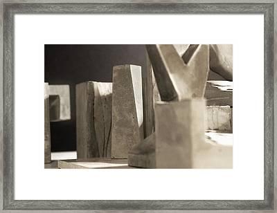 Cityscape 17 Framed Print by David Umemoto