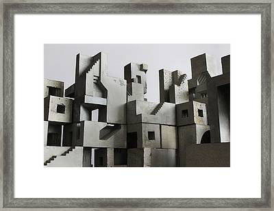 Cityscape 3 Framed Print by David Umemoto