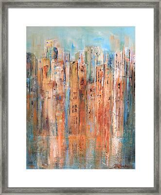 Cityscape #3 Framed Print