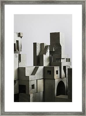 Cityscape 4 Framed Print by David Umemoto
