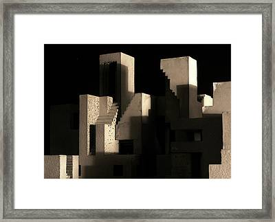 Cityscape 5 Framed Print by David Umemoto