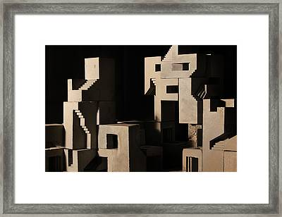 Cityscape 6 Framed Print by David Umemoto