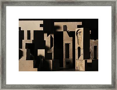 Cityscape 7 Framed Print by David Umemoto