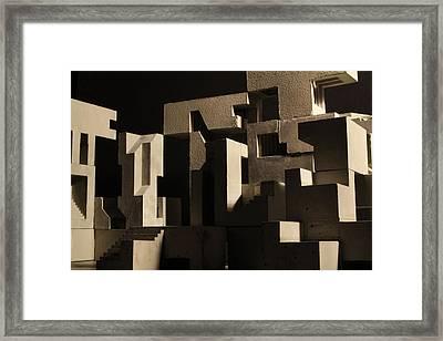 Cityscape 8 Framed Print by David Umemoto