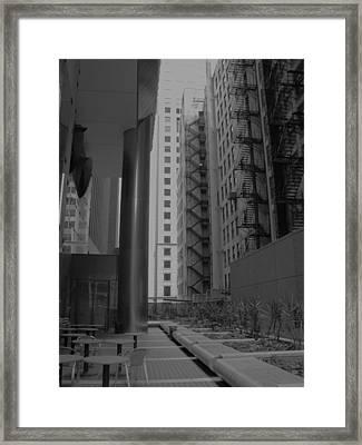 Cityscape I Framed Print