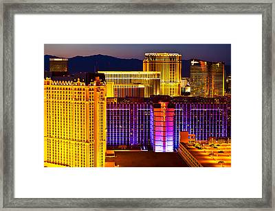 Cityscape Framed Print by James Marvin Phelps