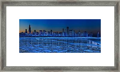 Cityscape Framed Print by Justin W. Kern