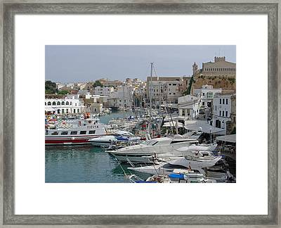 Ciutadella Marina Framed Print by Rod Johnson