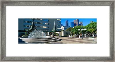 Civic Center East, Los Angeles Framed Print