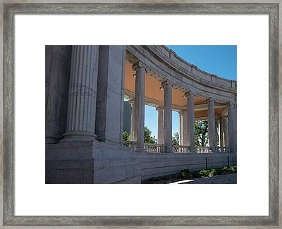 Civic Center Park Denver Co Framed Print by Steve Gadomski