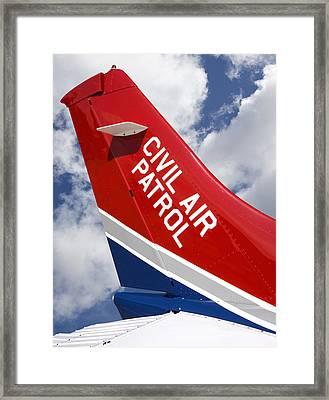 Civil Air Patrol Aircraft Framed Print