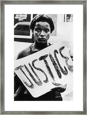 Civil Rights, 1961 Framed Print
